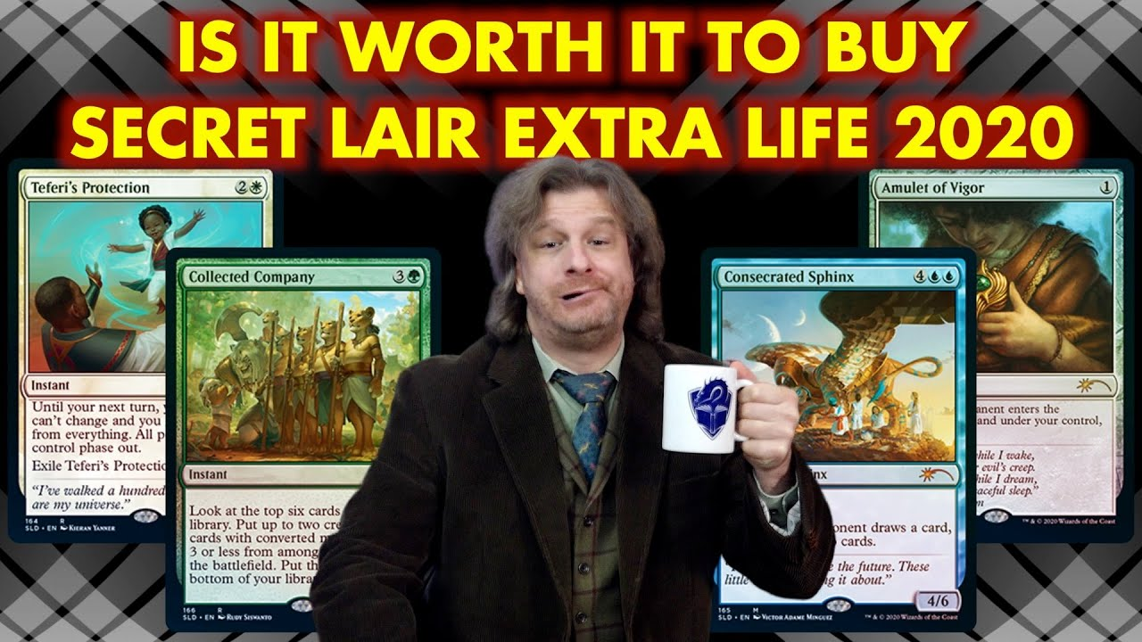 """Is It Worth It To Buy Secret Lair Extra Life 2020? A Magic: The Gathering """"Product"""" Review"""