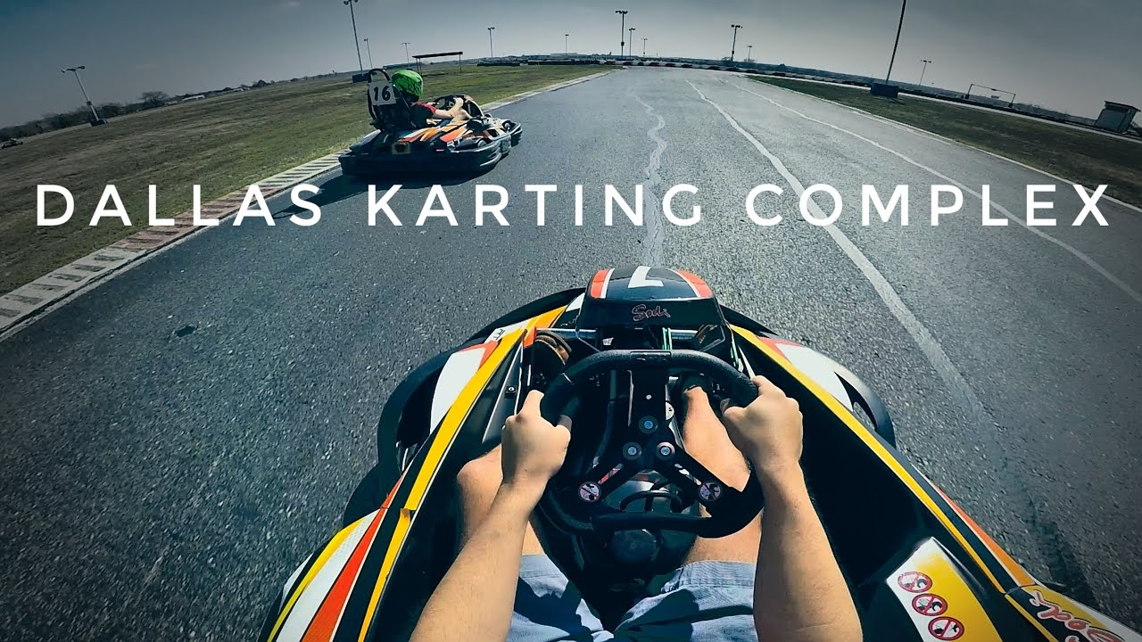 Dallas Karting Complex >> Fastest Go-Kart Track in Texas - YouTube