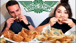 WingStop Chicken Wings Mukbang / Eating Show
