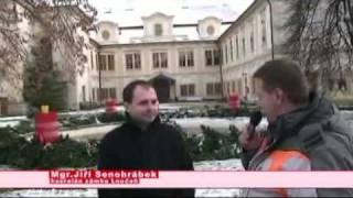reportáž ze zámku Loučeň