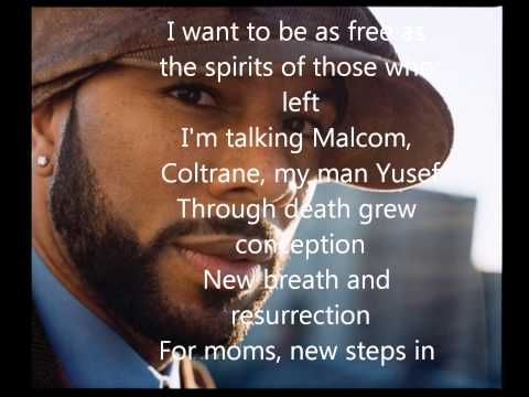 Common - Be (Lyrics on screen!)