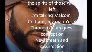 Common - Be (Lyrics on screen!)