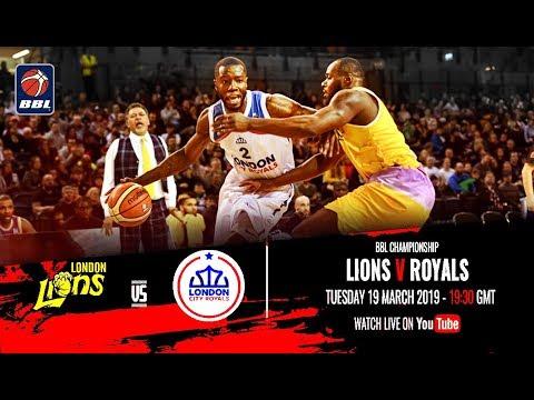 London Lions v London City Royals - BBL Championship - 19/03/19