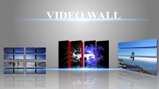 Video Wall After Effects Template Preview