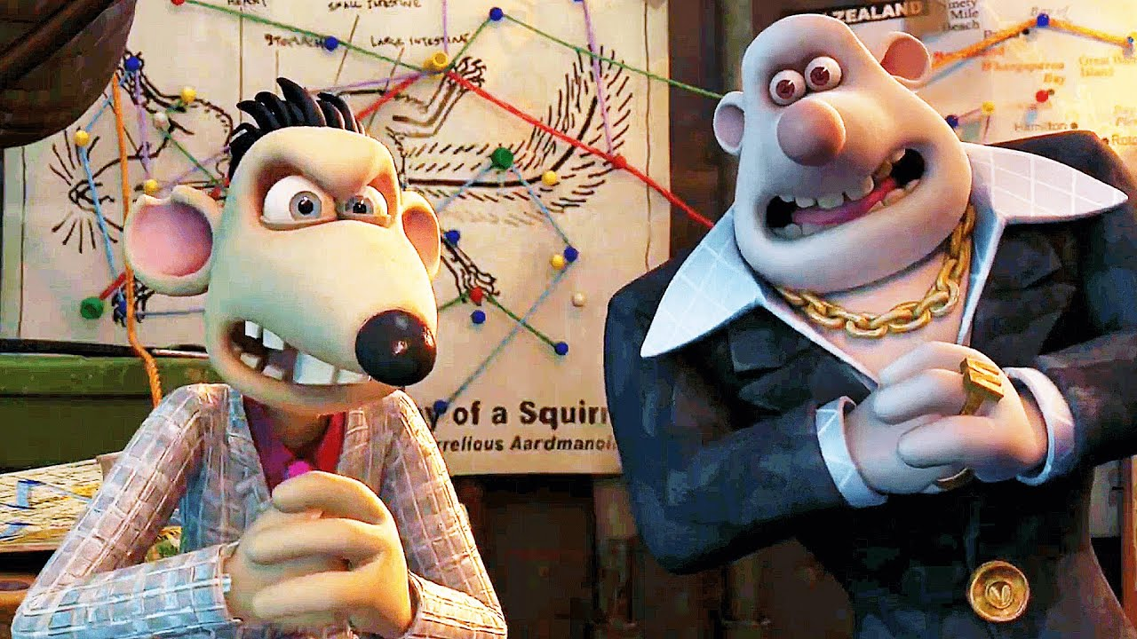 """FLUSHED AWAY Clips - """"Don't Worry Be Happy"""" (2006)"""