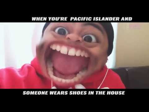 When your Pacific Islander and someone wears shoes in the house