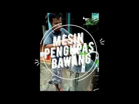 Video Mesin Pengupas Bawang Merah