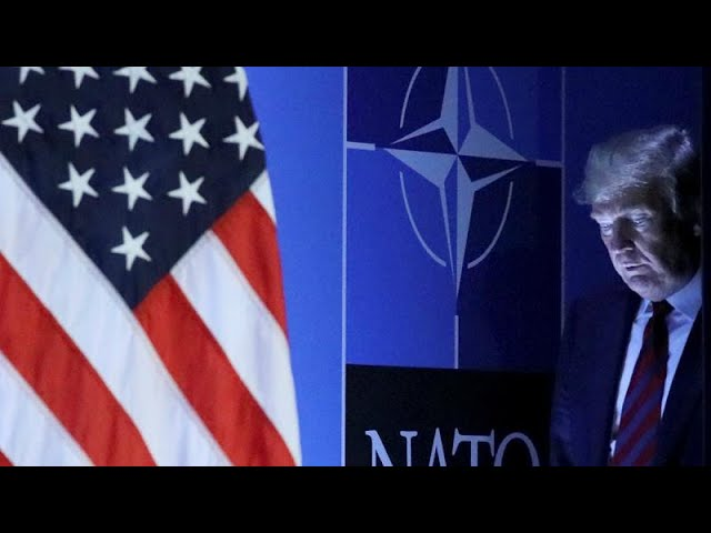 US President Trump praises his own role at NATO summit