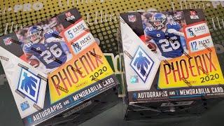 2020 Panini Phoenix Football 2 Hobby Box Opening! Nice Boxes! 6 Hits!
