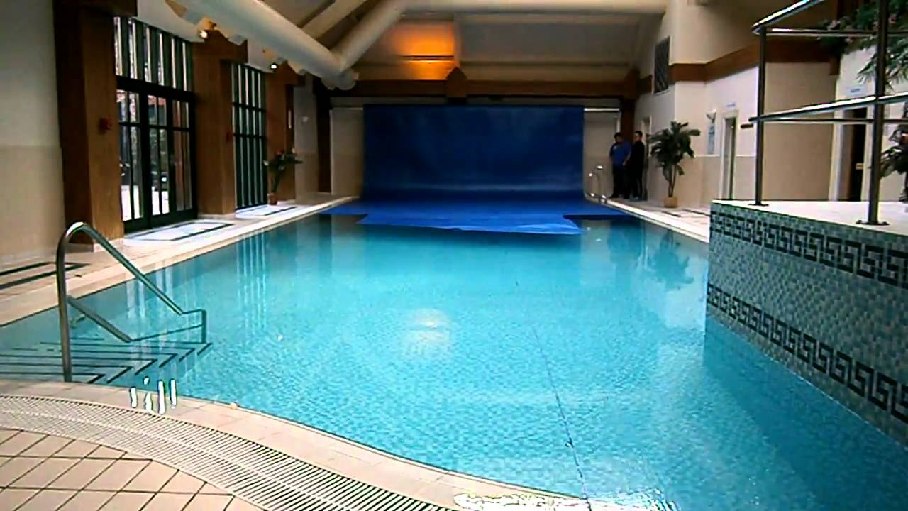 Indoor Pool Cover Youtube