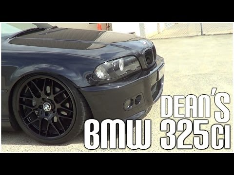 Dean's Black BMW 325ci (Slammed Productions)