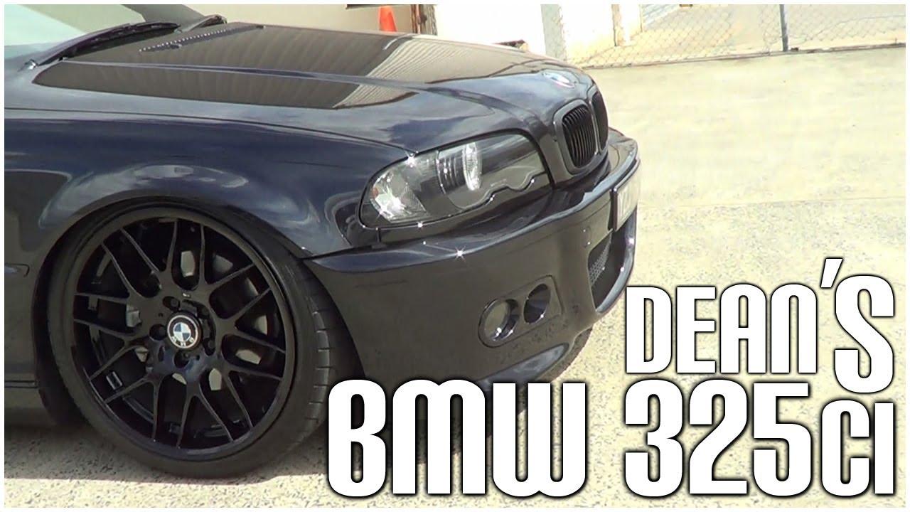 Dean S Black Bmw 325ci Slammed Productions Youtube