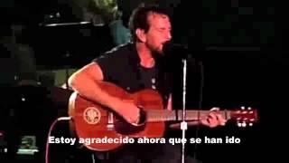 Future Days Pearl Jam español subtitulos
