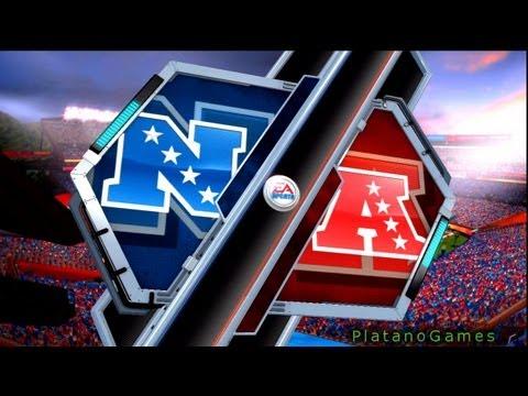 NFL Pro Bowl 2013 Highlights - NFC Conference vs AFC Conference - Madden NFL - HD