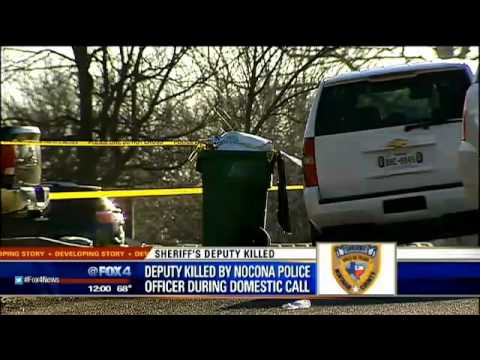Montague County sheriff's deputy killed by Nocona police officer