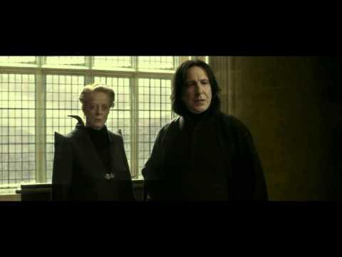Severus Snape calling Harry Potter
