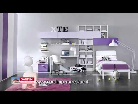 Camerette colorate per bambini di tutte le et youtube for Gardini per arredare