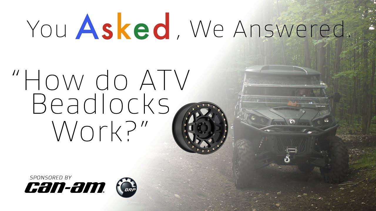How do ATV Beadlocks Work? - Dauer: 2 Minuten, 27 Sekunden