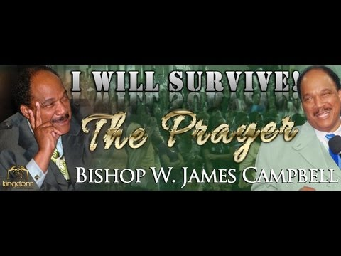 "BISHOP W. JAMES CAMPBELL PRAYS (""DESIGNEE"") (2013) *NEW*"
