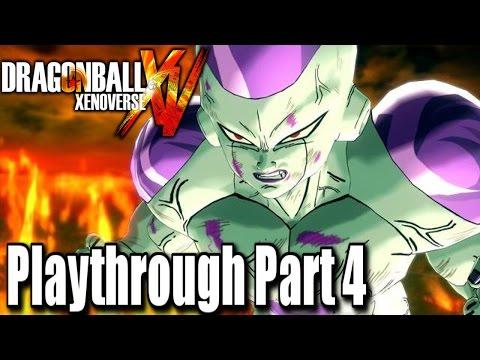 Dragon Ball Xenoverse Playthrough Part 4 | The Frieza Saga!!