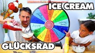 GLÜCKSRAD ICE CREAM SUNDAE CHALLENGE - Mystery wheel of ice Cream sundae - Mileys Welt