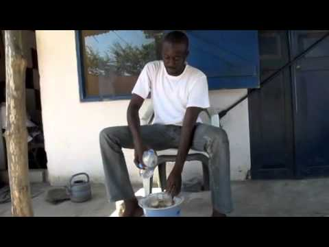 Making tea in Lome