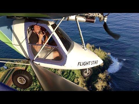 """""""Ray's one-way runway""""  -  Challenging Hawaiian Flying in an Ultralight"""