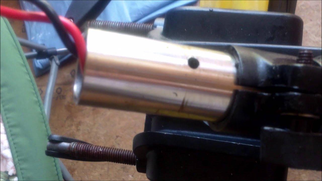How to replace minn kota trolling motor shaft for Minn kota great white trolling motor