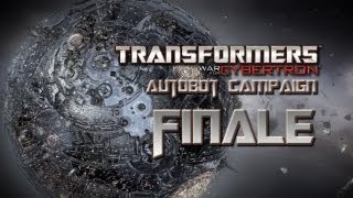 Transformers War for Cybertron Walkthrough - Autobot Campaign Final Boss Trypticon - One Shall Stand