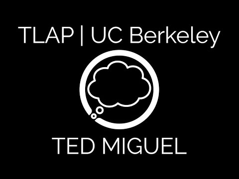 Climate Change, Poverty & Inequality | TED MIGUEL (UC BERKELEY) | Thought Lounge Against Poverty