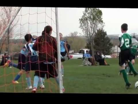 Christopher Linan Roncalli Middle School Soccer Highlights 4-14-12