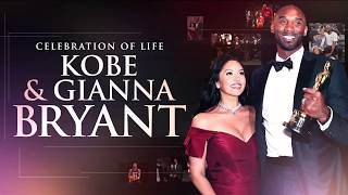 Kobe and Gianna Bryant Memorial: The Most Touching Moments