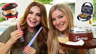 TESTING EVEN MORE FUN KITCHEN GADGETS w/ iJustine! Part 3