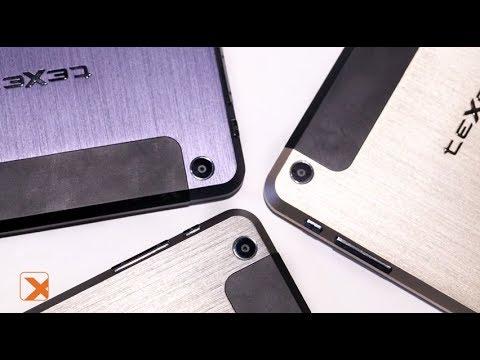 teXet X-pad STYLE 8 3G / TM-7877 - изящный планшет в трех цветах