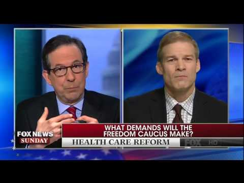 Chris Wallace presses on Freedom Caucus Founder, Jim Jordan
