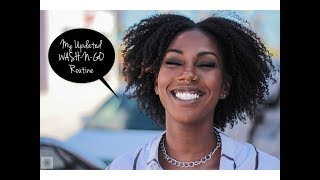 Best Wash n Go for Type 4 Hair || Updated Routine