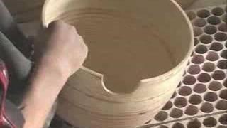Making Bamboo Bowls