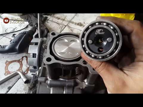 Vixion 190cc Piston 62mm    Bore up x Stroke up    Pin Stroke KLX di Vixion