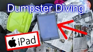 Dumpster Diving at Thrift Store #17 Apple iPad