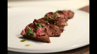 How to make Churrasco with Cilantro Chimichurri | Chef Chris Valdes