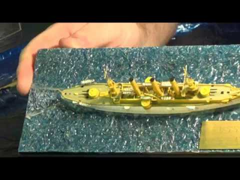 Basic Water bases for ship models by Sean Fallesen