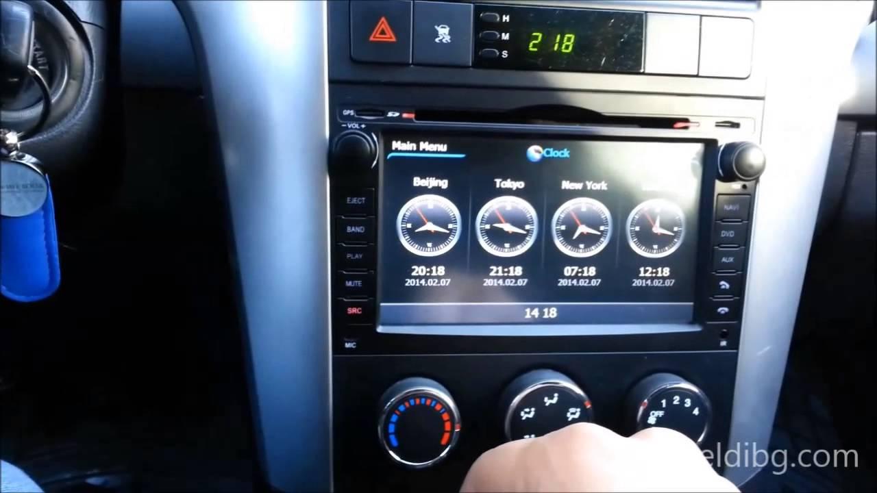Chevrolet Captiva Dvd Gps Navigation Dvb T Usb Sd Wifi Dvr
