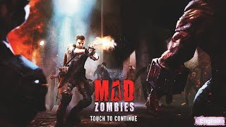 #Madzombie #android Mad zombie offline shooting game androi game play