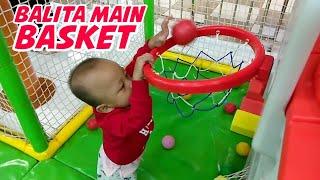 Balita Rex Jago Main Basket Masukin Bola ke Keranjang