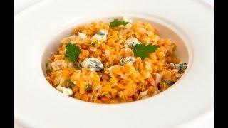 Чечевица с сыром Дорблю (вегетарианское блюдо) - видео рецепт личный повар