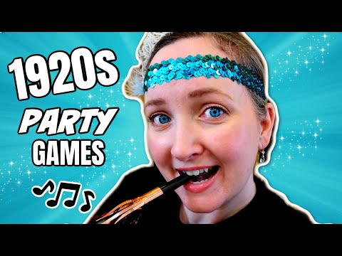 New Year Party Games (Roaring 1920s Theme)