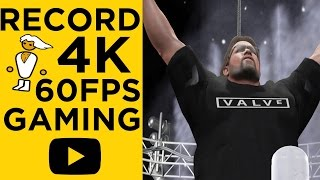HOW TO RECORD, RENDER & UPLOAD 4K 60 FPS GAMEPLAY VIDEOS