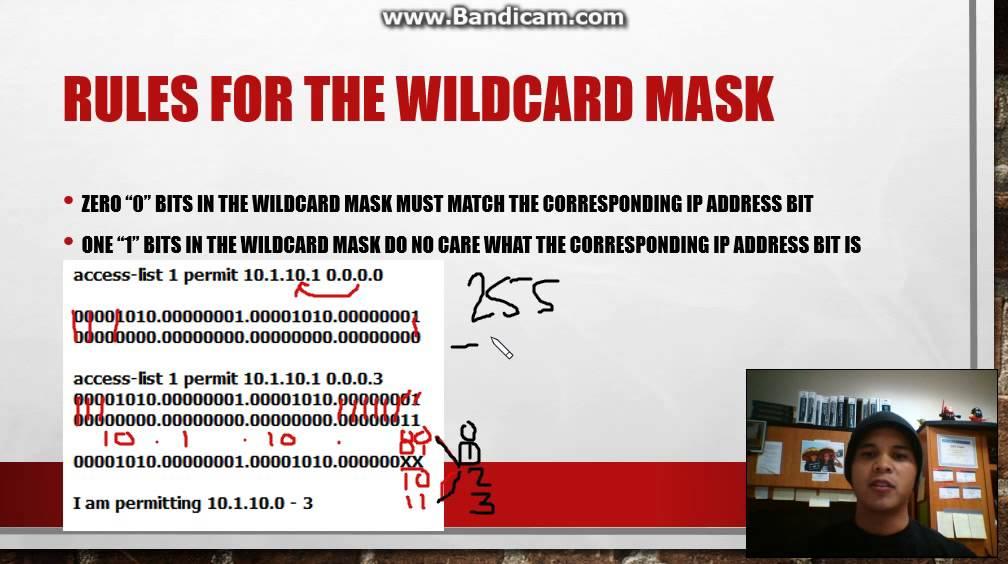 Wildcard mask ao! P.