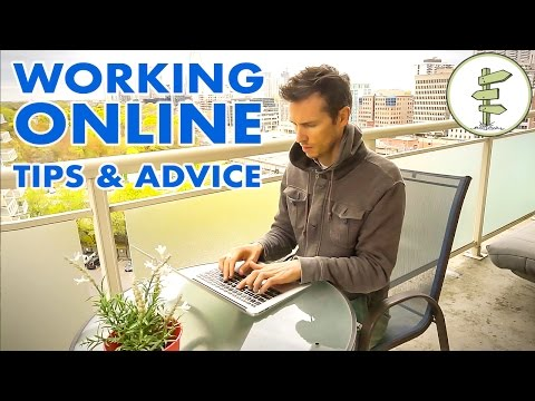 How to Get Started Working Online - Tips & Advice for New Digital Nomads