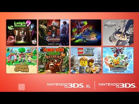 Best Nintendo 3ds Games Of All Time 2014 Youtube